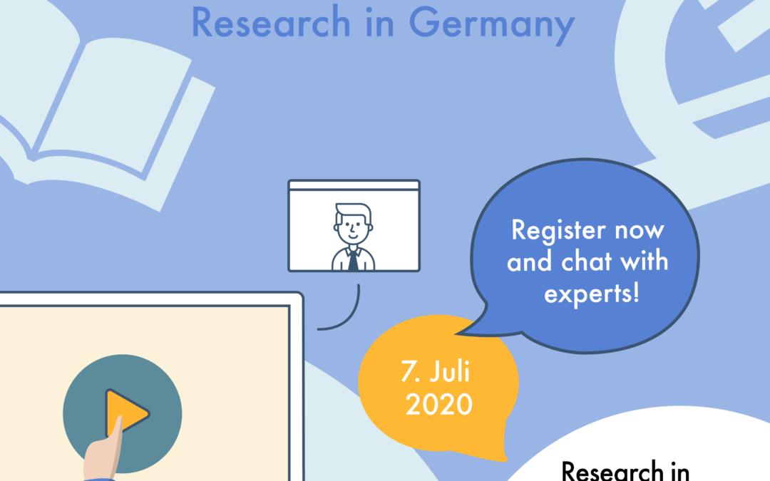 ML4Q @ Research in Germany Virtual Career Fair