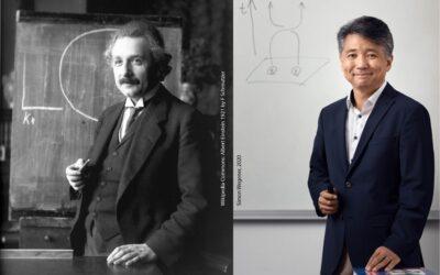 When I was a high school student, Albert Einstein was my idol