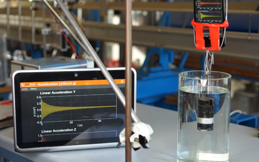 Phyphox: Seeing the world through your phone's sensors