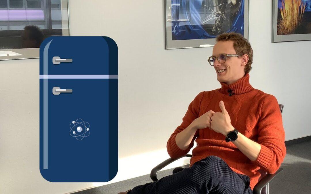 Quantum refrigerators: Martino Calzavara explains quantum control in ultracold atoms