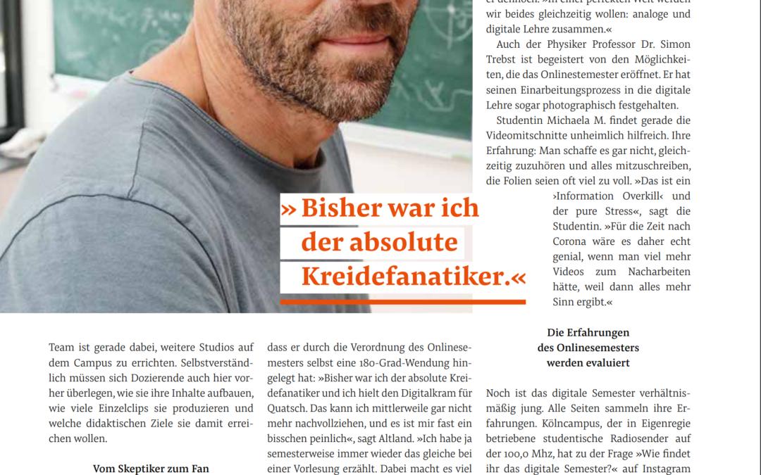 Alex Altland awarded the Albertus-Magnus-Lehrpreis